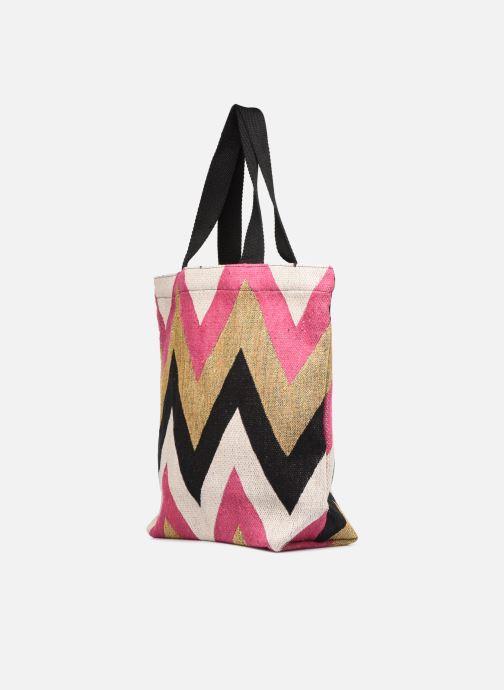 Handtaschen Pieces SAVANNAH SHOPPER rosa schuhe getragen