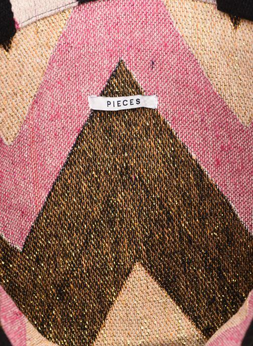 Handtassen Pieces SAVANNAH SHOPPER Roze achterkant