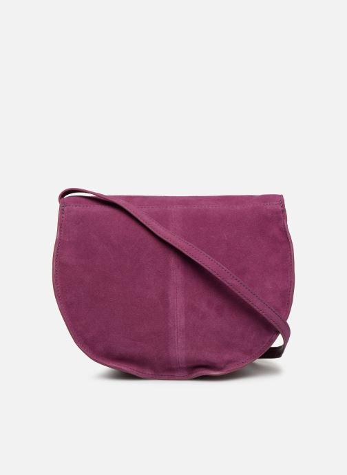 Sacs à main Pieces SEDONA SUEDE CROSSBODY Violet vue face