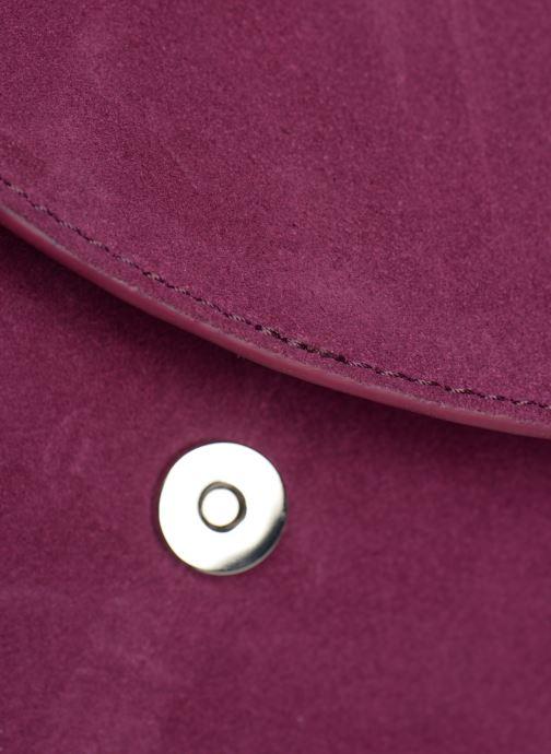 Bolsos de mano Pieces SEDONA SUEDE CROSSBODY Violeta      vista lateral izquierda