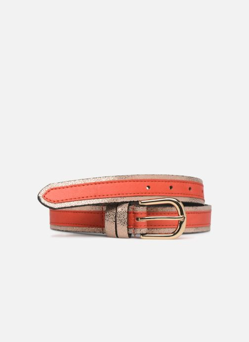 Skärp Pieces LONNY BELT Orange detaljerad bild på paret