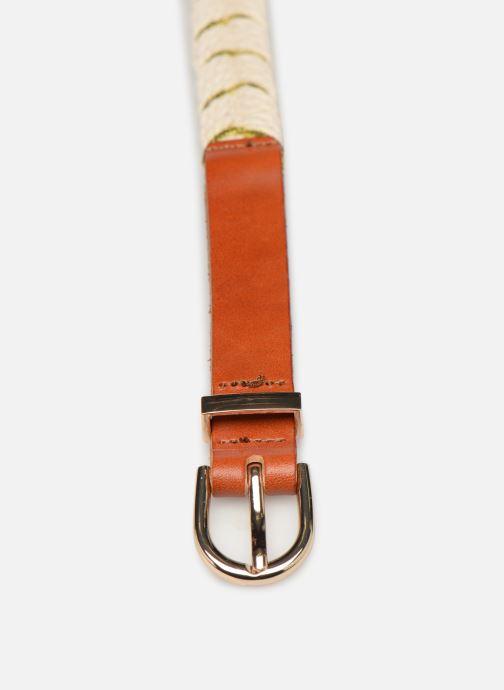 Cinturones Pieces SIAL BELT Blanco vista del modelo