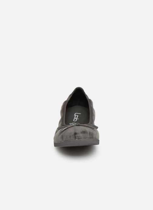 Ballerines Les P'tites Bombes EDEN Noir vue portées chaussures