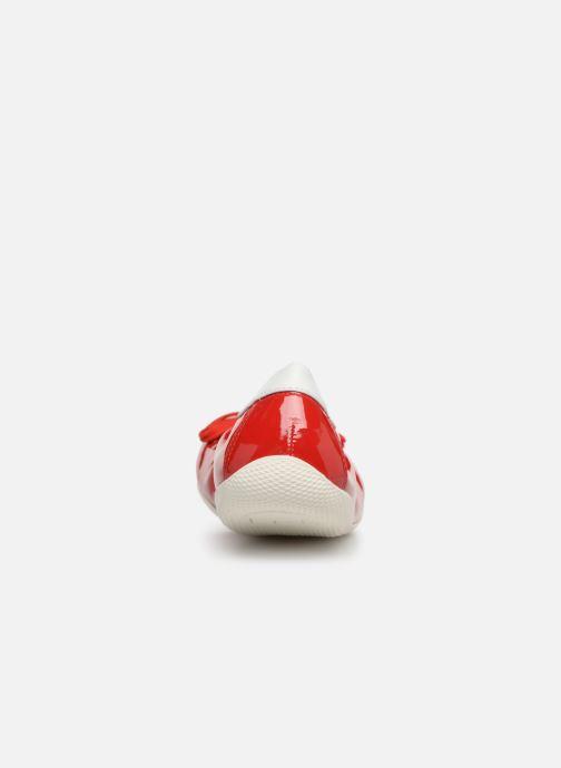 Ballerines Les P'tites Bombes ELFIE Rouge vue droite