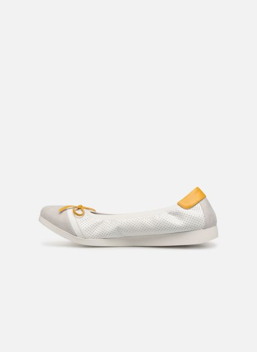 Ballerina's Les P'tites Bombes ELOISE Wit voorkant