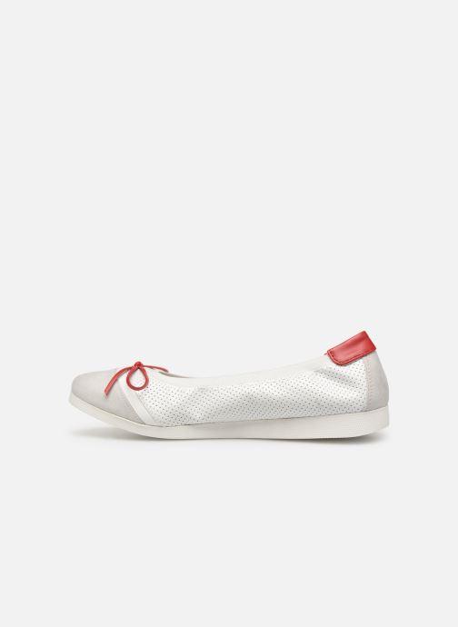 Ballerinas Les P'tites Bombes ELOISE rot ansicht von vorne
