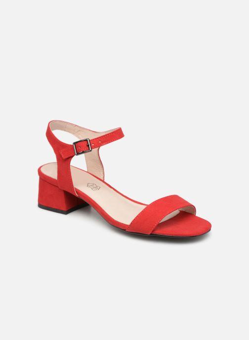 Sandales et nu-pieds Les P'tites Bombes PEGGY Rouge vue détail/paire
