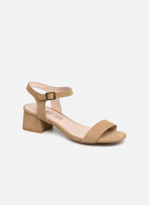 Sandaler Les P'tites Bombes PEGGY Beige detaljeret billede af skoene
