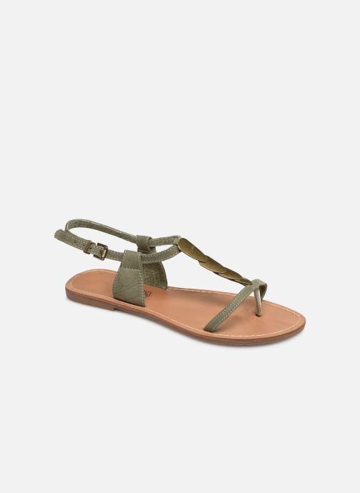 Sandales et nu-pieds Les P'tites Bombes PEPITA Vert vue détail/paire