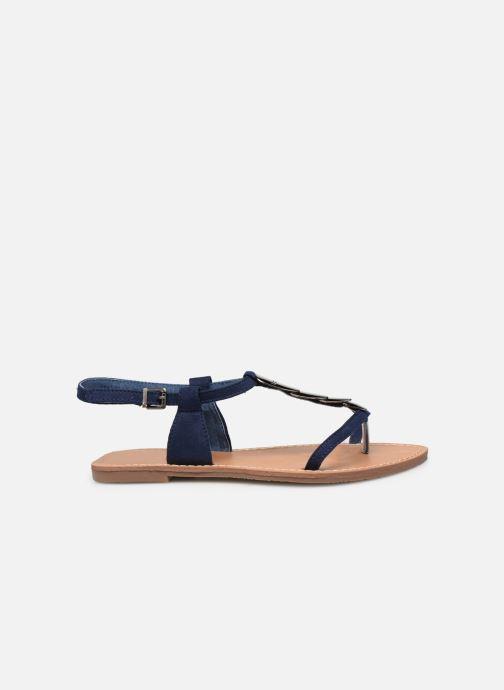 Sandales et nu-pieds Les P'tites Bombes PEPITA Bleu vue derrière