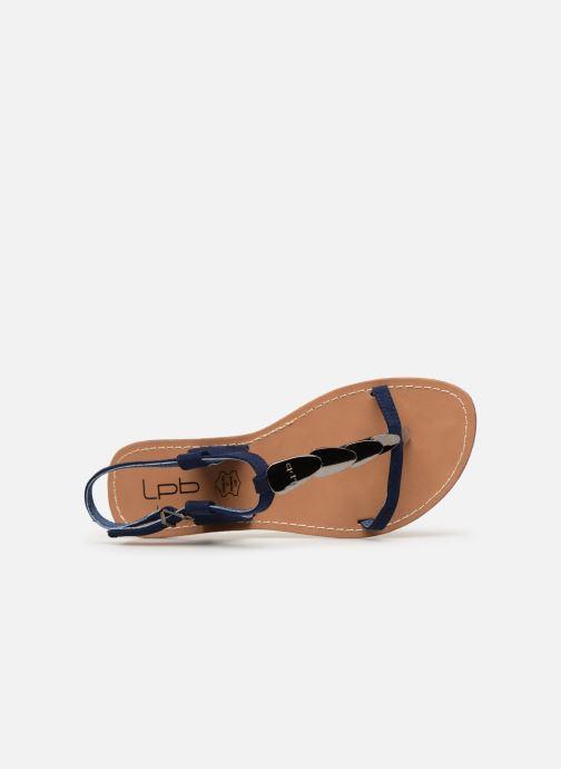 Sandales et nu-pieds Les P'tites Bombes PEPITA Bleu vue gauche