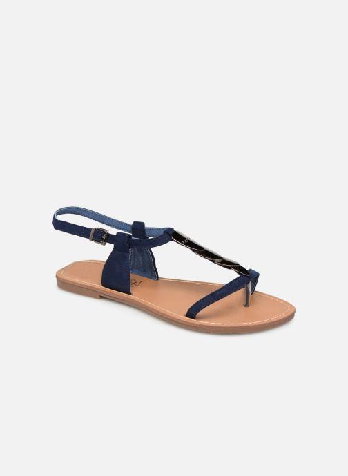 Sandales et nu-pieds Les P'tites Bombes PEPITA Bleu vue détail/paire