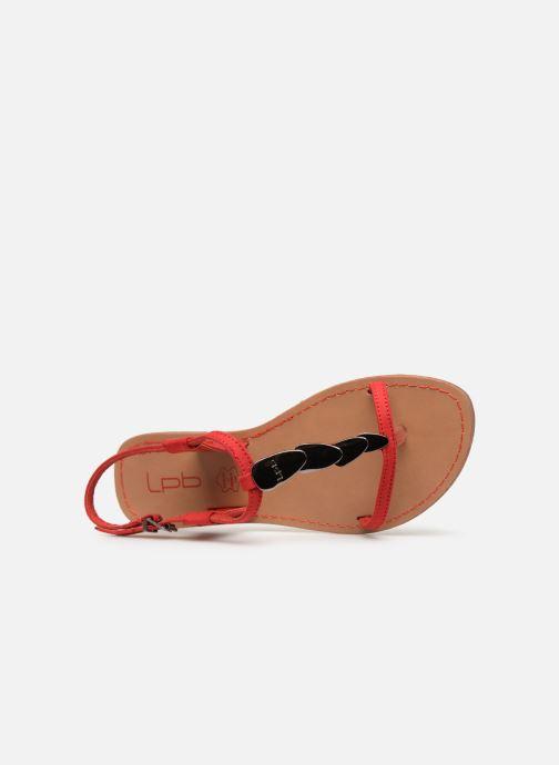 Sandales et nu-pieds Les P'tites Bombes PEPITA Rouge vue gauche