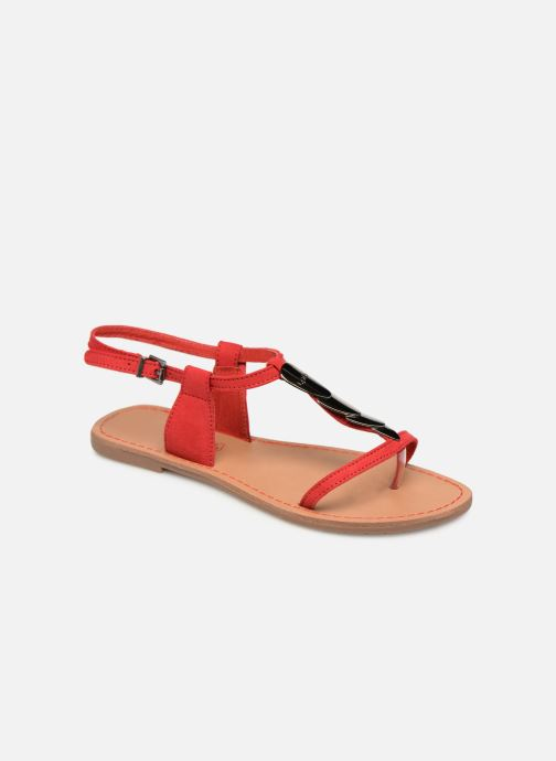 Sandales et nu-pieds Les P'tites Bombes PEPITA Rouge vue détail/paire