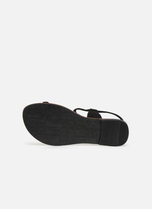 Sandales et nu-pieds Les P'tites Bombes PEPITA Noir vue haut