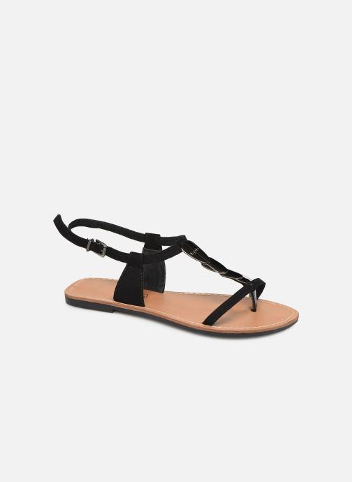 Sandales et nu-pieds Les P'tites Bombes PEPITA Noir vue détail/paire