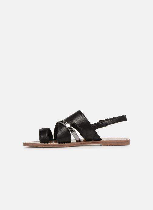 Sandales et nu-pieds Les P'tites Bombes PHIBBY Noir vue face