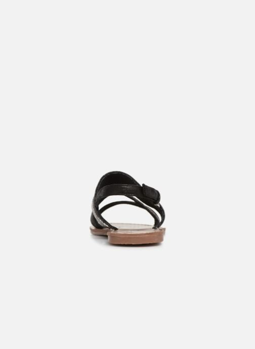 Sandales et nu-pieds Les P'tites Bombes PHIBBY Noir vue droite