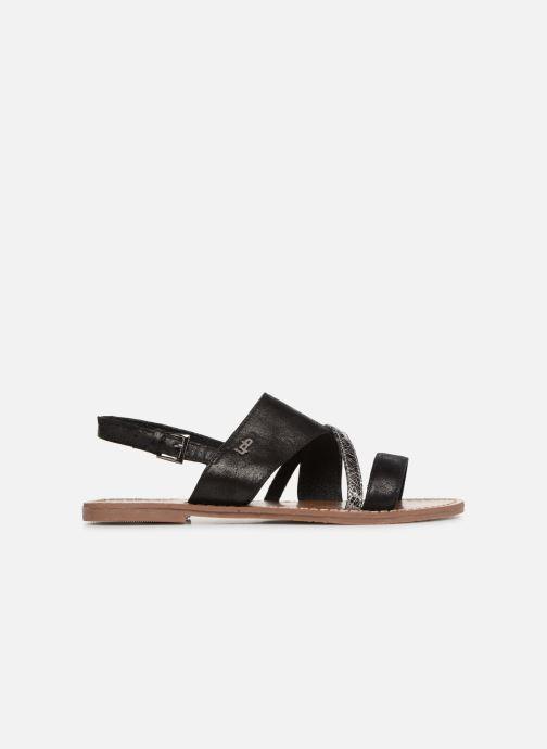 Sandales et nu-pieds Les P'tites Bombes PHIBBY Noir vue derrière