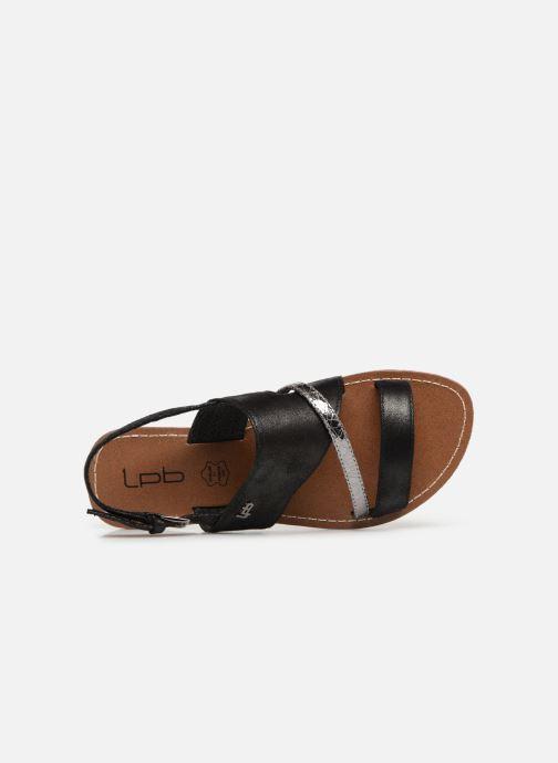 Sandales et nu-pieds Les P'tites Bombes PHIBBY Noir vue gauche