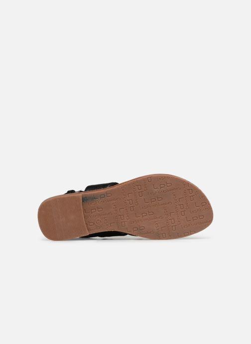 Sandales et nu-pieds Les P'tites Bombes PHIBBY Noir vue haut
