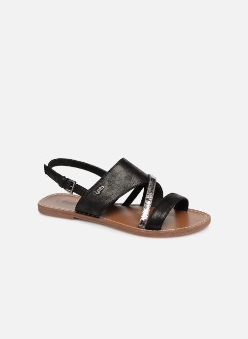 Sandales et nu-pieds Les P'tites Bombes PHIBBY Noir vue détail/paire