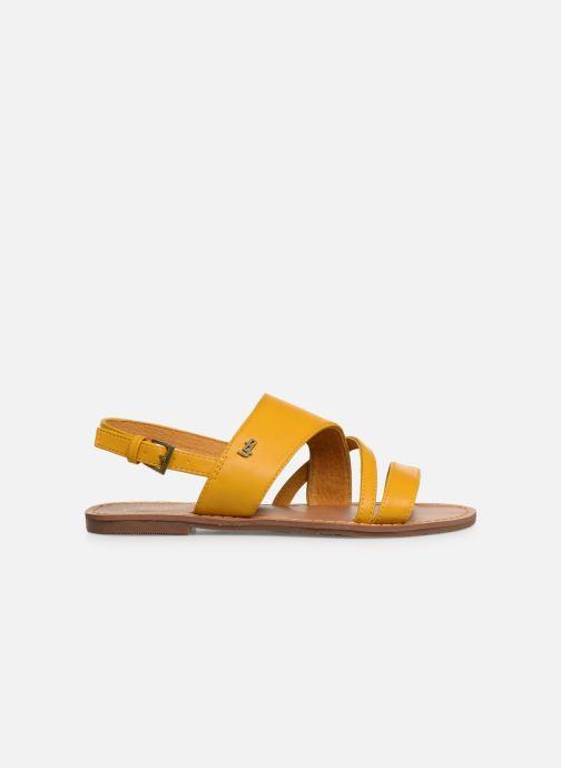 Sandales et nu-pieds Les P'tites Bombes PHIBBY Jaune vue derrière