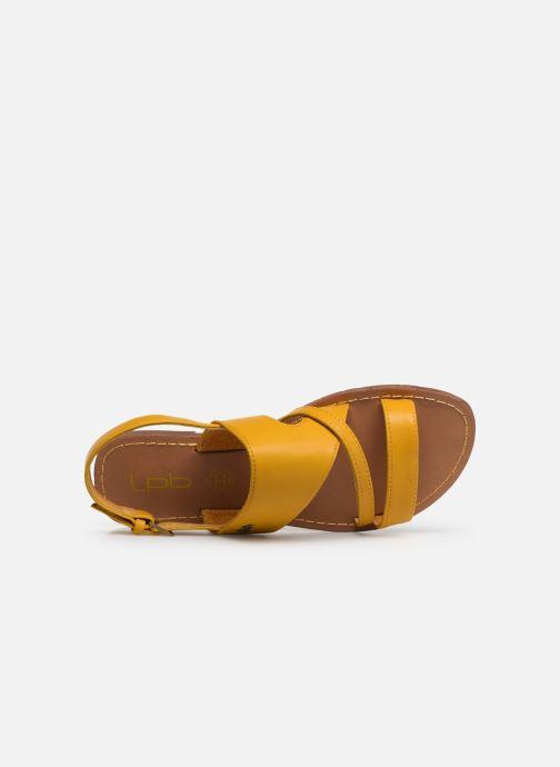 Sandales et nu-pieds Les P'tites Bombes PHIBBY Jaune vue gauche