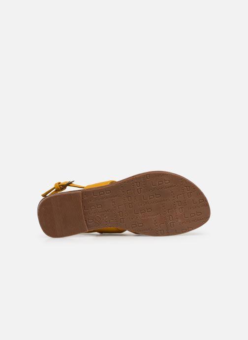 Sandales et nu-pieds Les P'tites Bombes PHIBBY Jaune vue haut