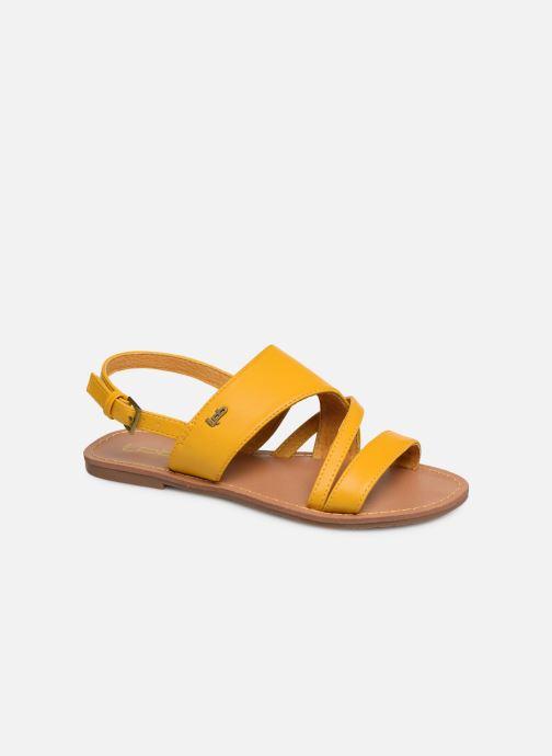 Sandales et nu-pieds Les P'tites Bombes PHIBBY Jaune vue détail/paire