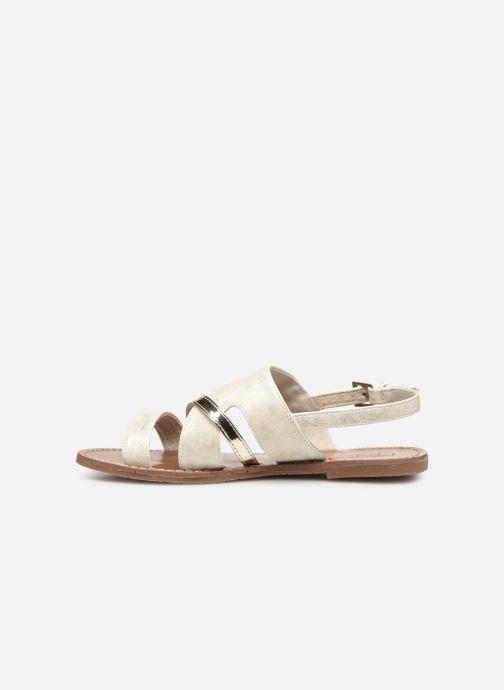 Sandales et nu-pieds Les P'tites Bombes PHIBBY Blanc vue face
