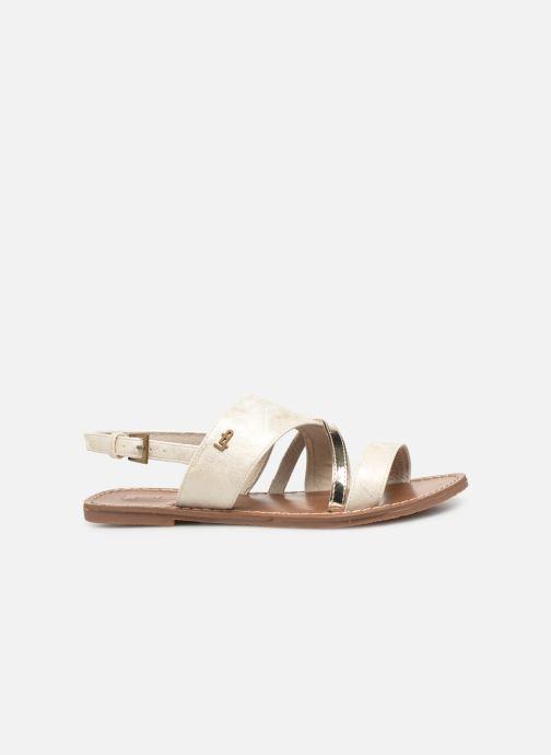 Sandales et nu-pieds Les P'tites Bombes PHIBBY Blanc vue derrière