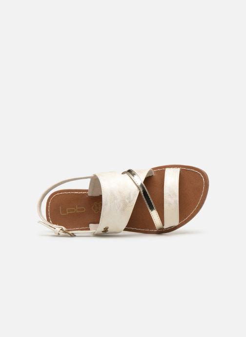 Sandales et nu-pieds Les P'tites Bombes PHIBBY Blanc vue gauche