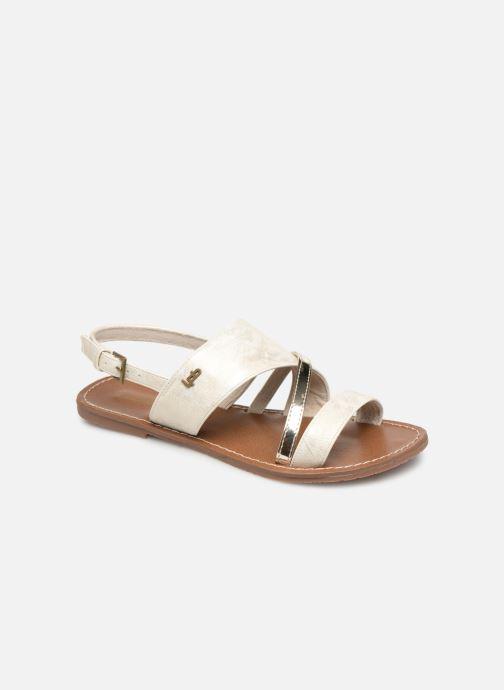 Sandales et nu-pieds Les P'tites Bombes PHIBBY Blanc vue détail/paire