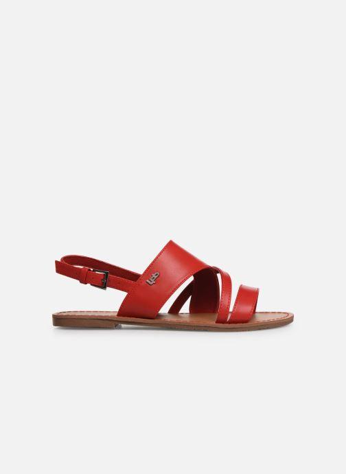 Sandales et nu-pieds Les P'tites Bombes PHIBBY Rouge vue derrière