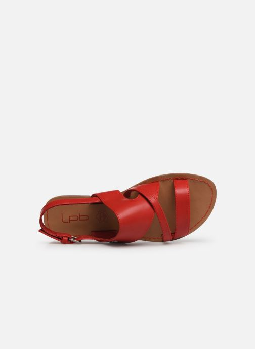Sandales et nu-pieds Les P'tites Bombes PHIBBY Rouge vue gauche
