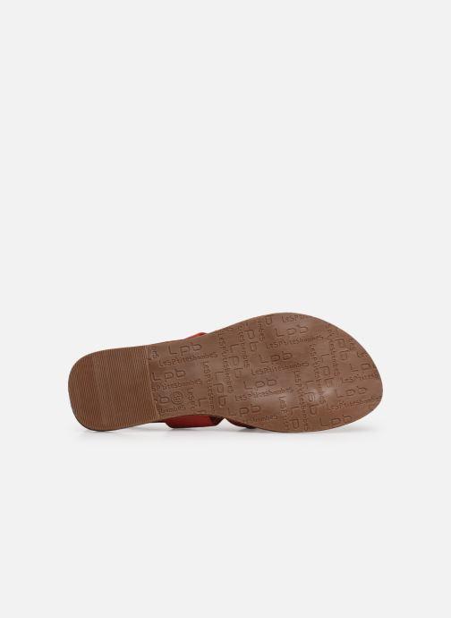 Sandales et nu-pieds Les P'tites Bombes PHIBBY Rouge vue haut