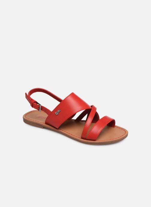 Sandales et nu-pieds Les P'tites Bombes PHIBBY Rouge vue détail/paire