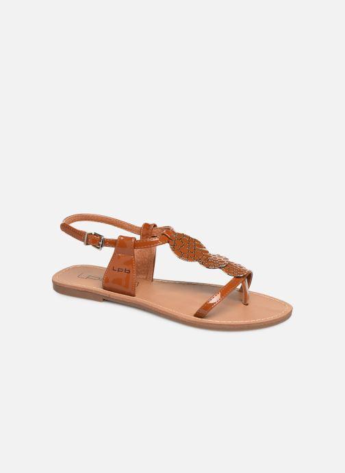 Sandales et nu-pieds Les P'tites Bombes PIPA Marron vue détail/paire