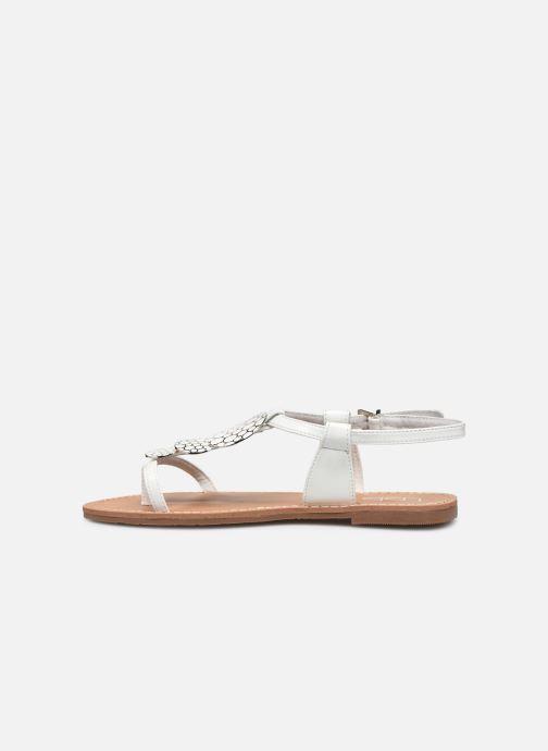 Sandales et nu-pieds Les P'tites Bombes PIPA Blanc vue face