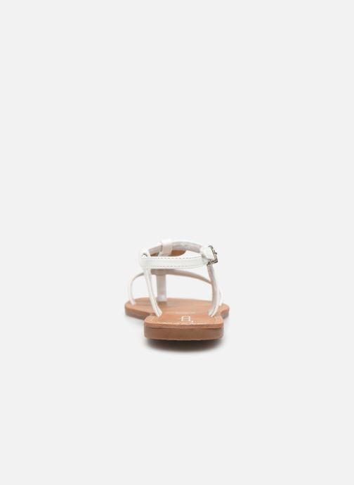 Sandales et nu-pieds Les P'tites Bombes PIPA Blanc vue droite