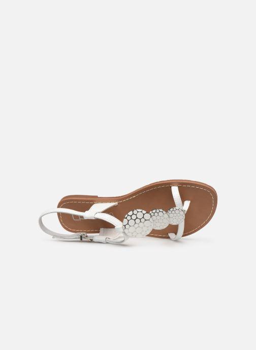 Sandales et nu-pieds Les P'tites Bombes PIPA Blanc vue gauche