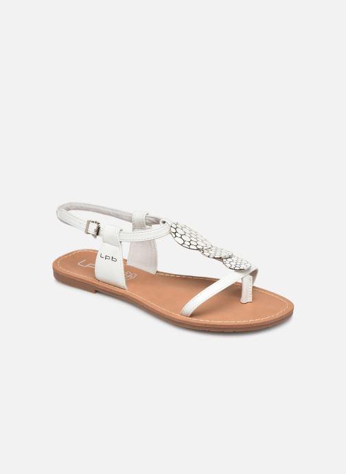 Sandales et nu-pieds Les P'tites Bombes PIPA Blanc vue détail/paire