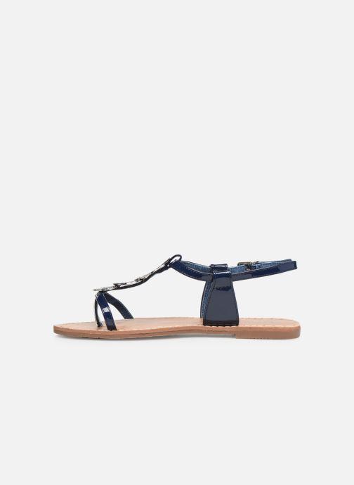 Sandales et nu-pieds Les P'tites Bombes PIPA Bleu vue face