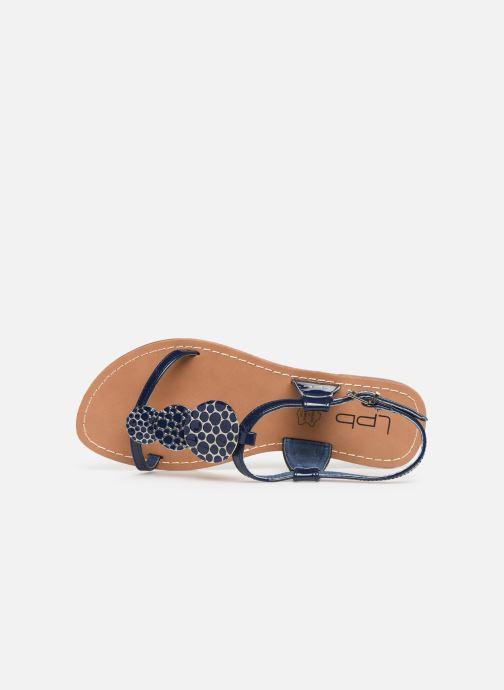 Sandales et nu-pieds Les P'tites Bombes PIPA Bleu vue gauche