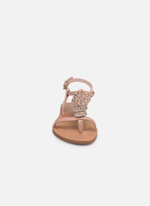Sandales et nu-pieds Les P'tites Bombes PIPA Rose vue portées chaussures