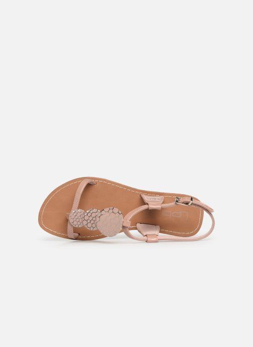 Sandales et nu-pieds Les P'tites Bombes PIPA Rose vue gauche