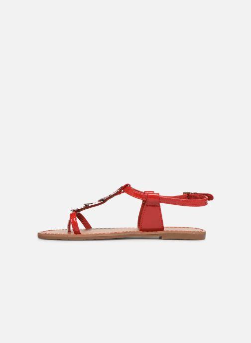 Sandales et nu-pieds Les P'tites Bombes PIPA Rouge vue face