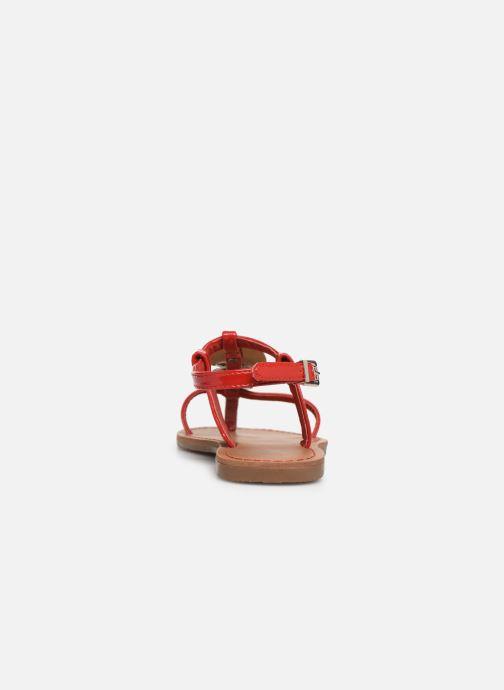 Sandales et nu-pieds Les P'tites Bombes PIPA Rouge vue droite
