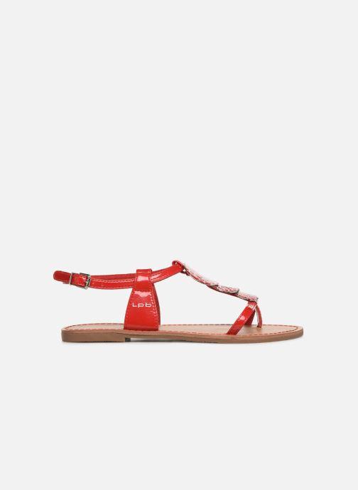 Sandales et nu-pieds Les P'tites Bombes PIPA Rouge vue derrière